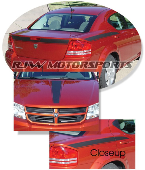Dodge Avenger Decal Kit