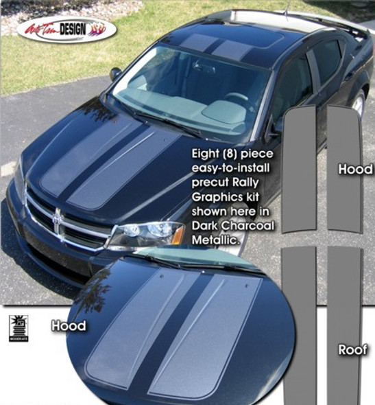 Rally Stripes for Dodge Avenger