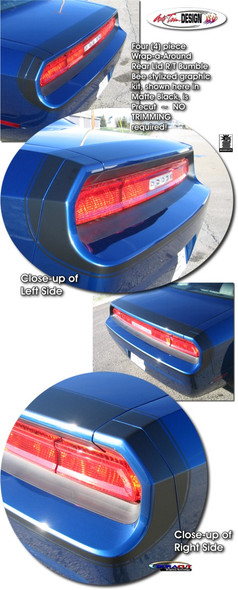 Bumble Bee Trunk Stripes for Dodge Challenger '08-'14