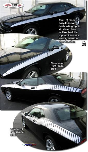 Dodge Challenger Body Graphics