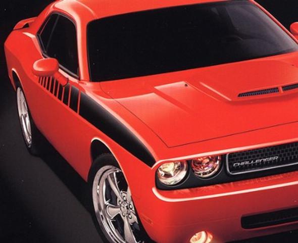 Dodge Challenger Strobe Stripes