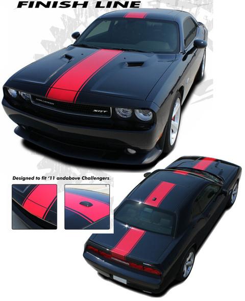 Finishline Stripes for Dodge Challenger - '08-'14