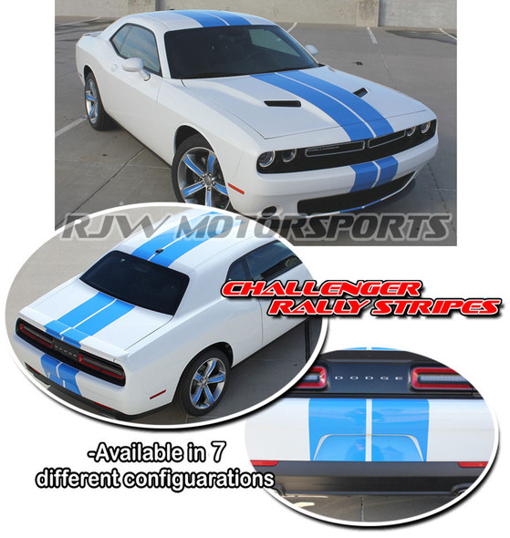 Racing Stripes for 2015-2018 Dodge Challenger