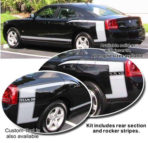 Dodge Charger Power Stripes Kit