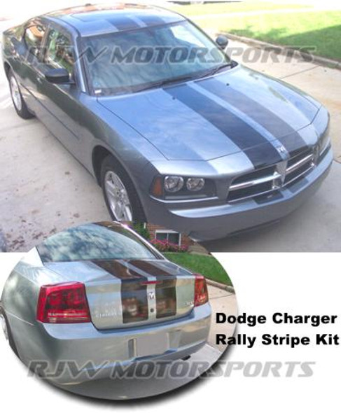 Dodge Charger Racing Stripes