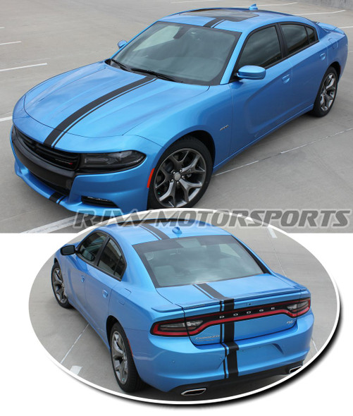 Mopar Style Stripes for 2015 Dodge Charger