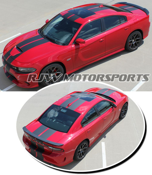 Racing Stripes for 2015-Up Charger R/T Scat Pack & SRT