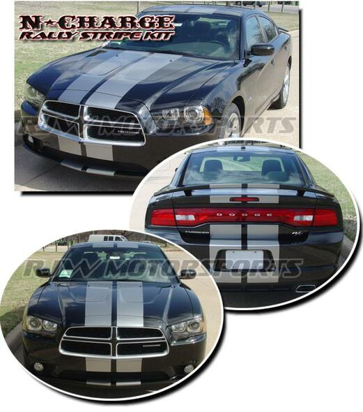 Rally Stripes for '11-'14 Dodge Charger