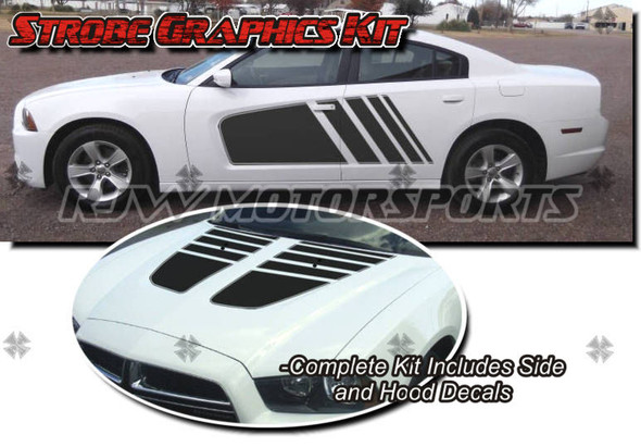 Strobe Graphics Kit for 2011-2014 Charger