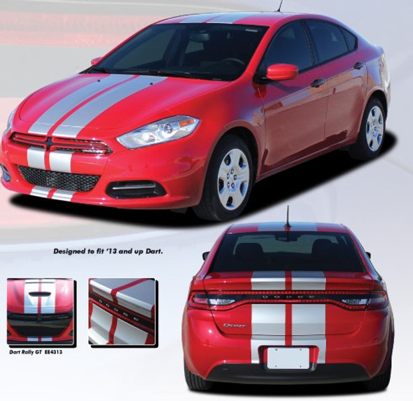2013-2016 Dart Rally/Racing Stripes
