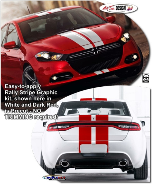 Racing Stripes for '13-Up Dodge Dart