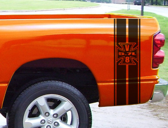 Bed Stripes for Dodge Ram Rumble Bee