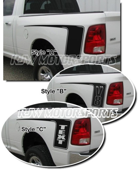 Hockey Decals for 09-Up Dodge Ram