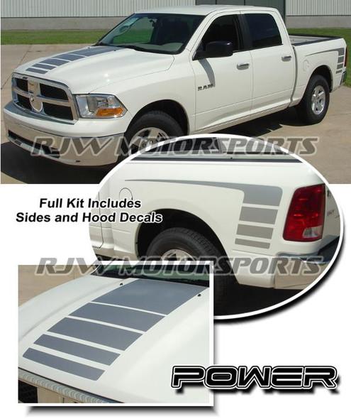 Power Stripes Kit for 2009-Up Ram