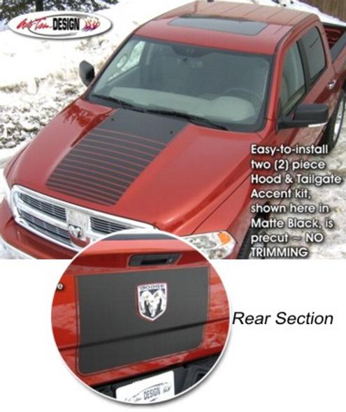 Single Stripe for 2009-2018 Dodge Ram