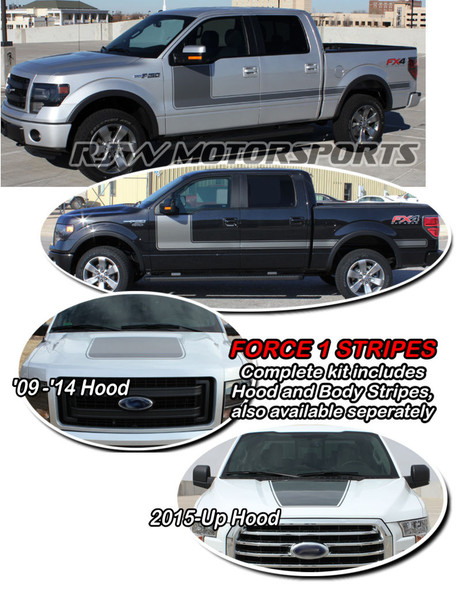 Force 1 Stripes for F150 2009-Up