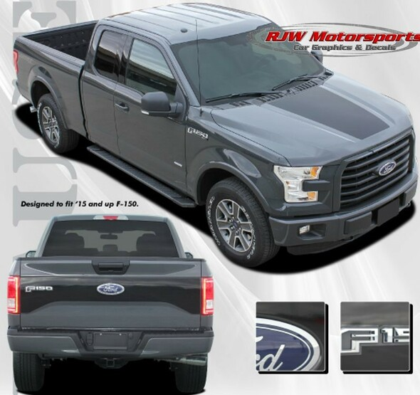 Hood & Tailgate Stripe for 2015-2020 F150