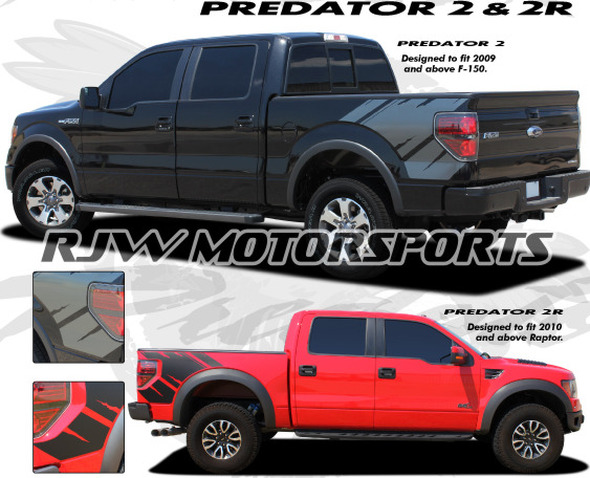 Predator 2 Graphics for '09-'14 F150