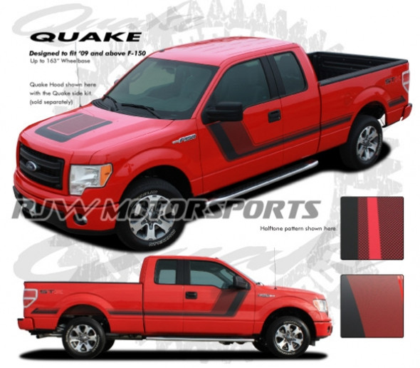 Quake Stripes for 2009-Up F150