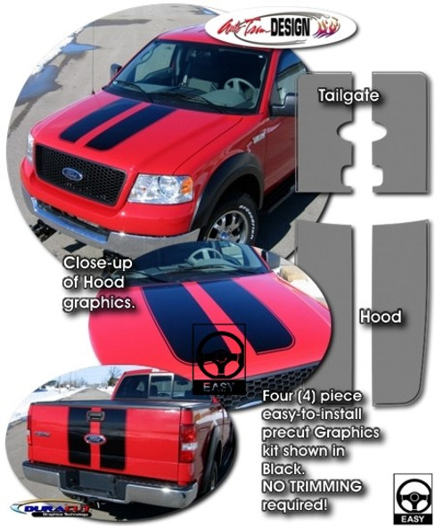 Racing Stripes for 04-14 F150
