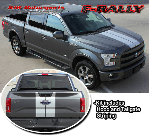Racing Stripes for 2015-2017 F150