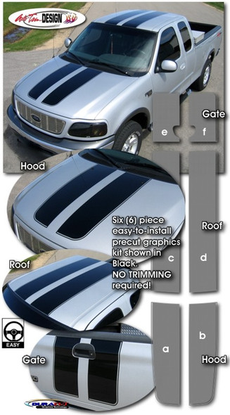 Racing Stripes for 97-03 F150