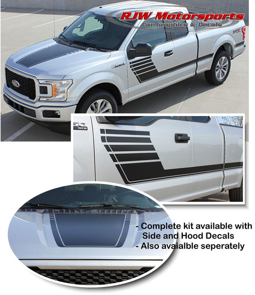 Speedway Stripes for F150 - '15-Up
