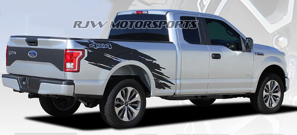 Torn Bed Decals for F150 '15-Up