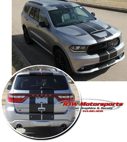 Rally Stripes for '14-Up Dodge Durango