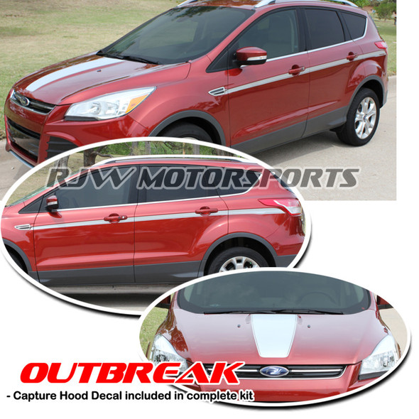 Outbreak Decal Kit for '13-Up Ford Escape