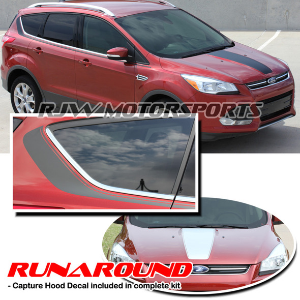 Runaround Stripe Kit for '13-Up Ford Escape