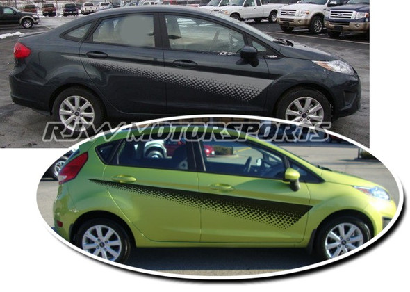 Fade Stripe Decals for Ford Fiesta