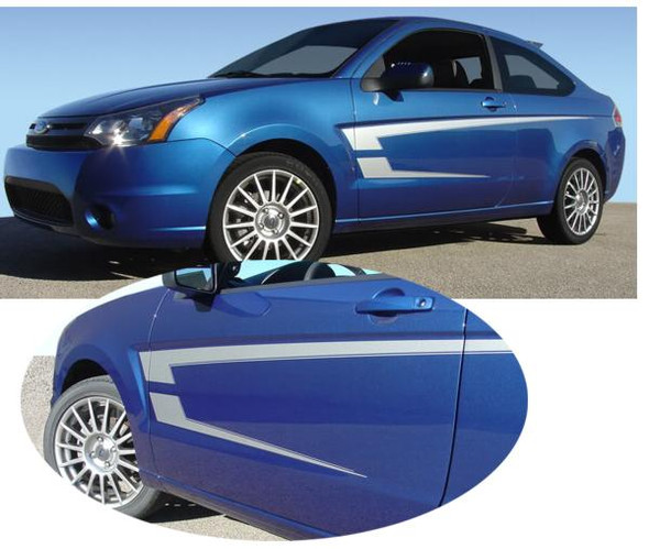 Pierce Side Decal Kit for 08-11 Focus