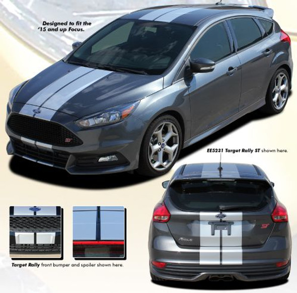 Racing Stripes for 2015-2018 Focus Hatchback
