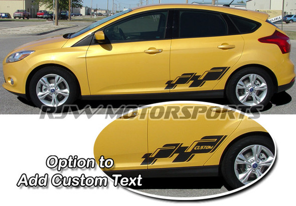 Scatter Decals for 2012-Up Focus