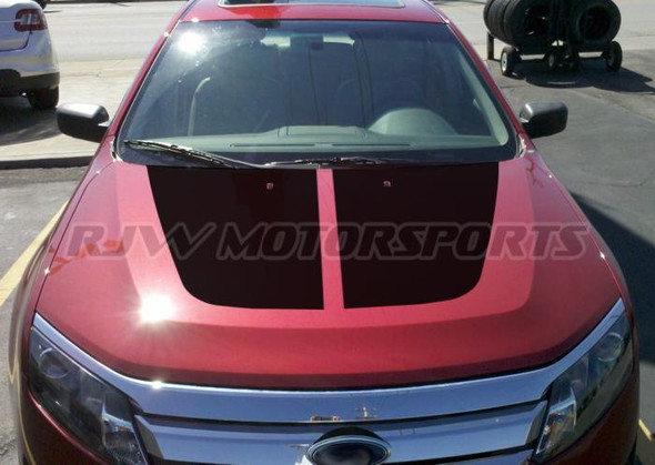 Hood Decals for 2010-2012 Ford Fusion