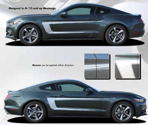 C-Stripe - 2015-Up Mustang