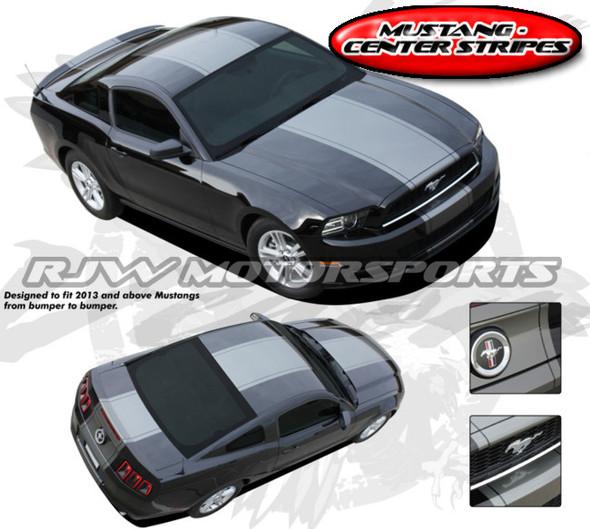 """Center """"Venom"""" Stripes for 2013-14 Mustang"""