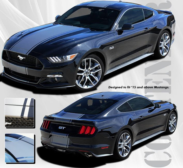 Contender Stripes for 2015-2017 Mustang