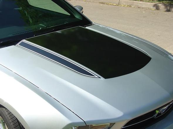 Dominator Hood Decals for 2010-2012 Mustang