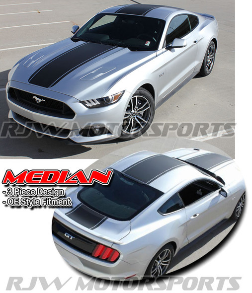 Median Stripes for 2015-Up Mustang
