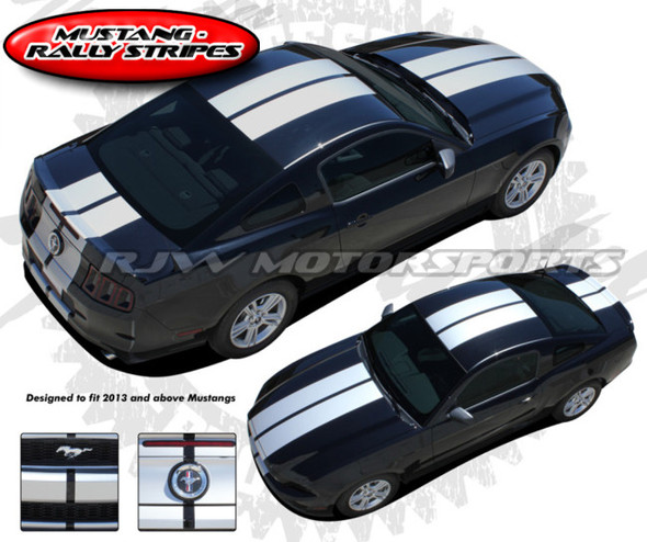 Racing Stripes for 2013-2014 Mustang