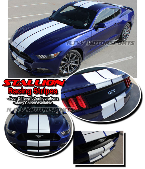 Racing Stripes for 2015-2017 Mustang