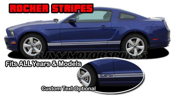 Rocker Stripes 3 for Mustang