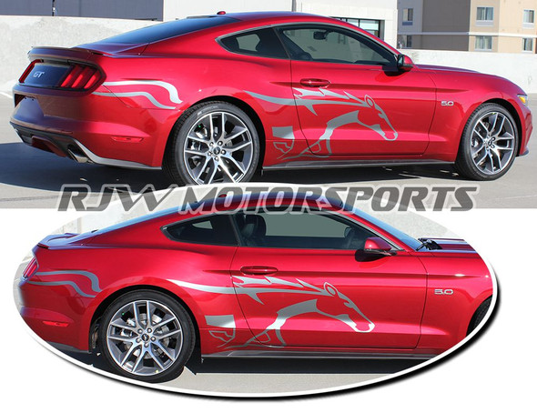 Steed Stripes for 2015 Mustang