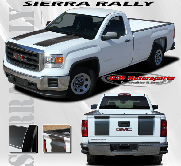 Racing Stripes for 2014-2018 GMC Sierra