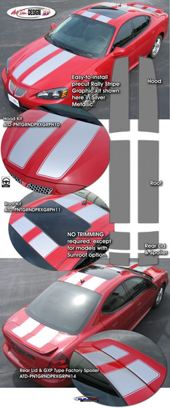 Racing Stripes for 04-08 Grand Prix