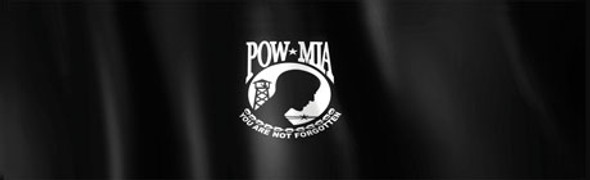 Glasscapes - POW MIA Flag