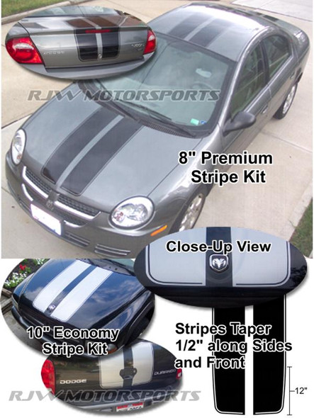 Deluxe Racing Stripes Kit