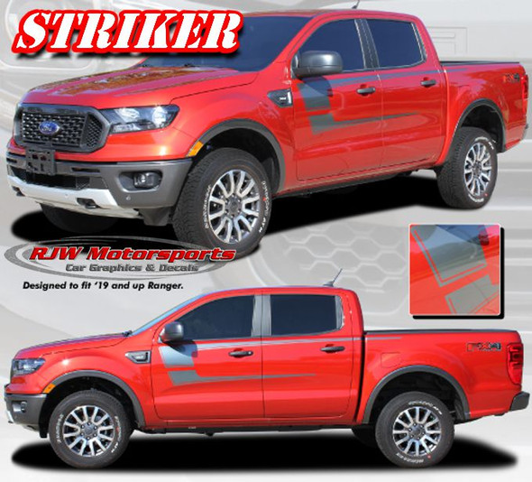 Ranger Striker Decal Kit - 2019-Up